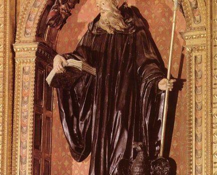 San Benito en el patrimonio navarro